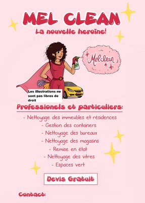 Creation flyer - publicite entreprise