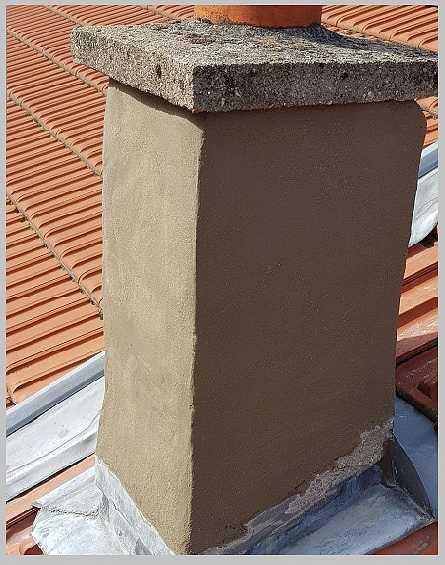 Réparation d'une cheminée