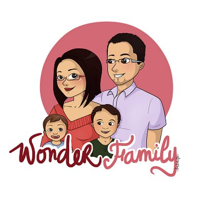 Creation illustration famille