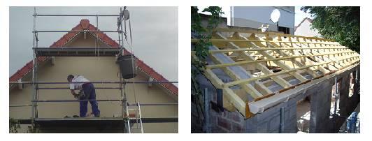 travaux de rénovation couverture et de façade