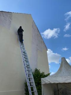 peinture façade 60 (Oise) Thourotte